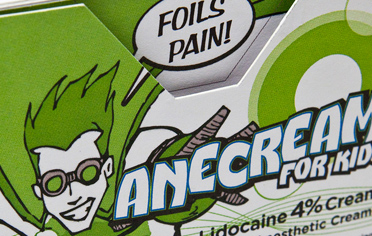 ANECREAM <br />Superhero for Kids