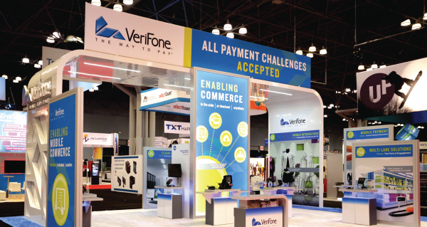 Verifone Booth